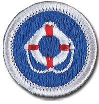 Lifesaving merit badge