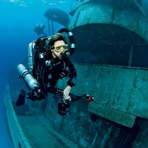 Rebreather Mask Diving