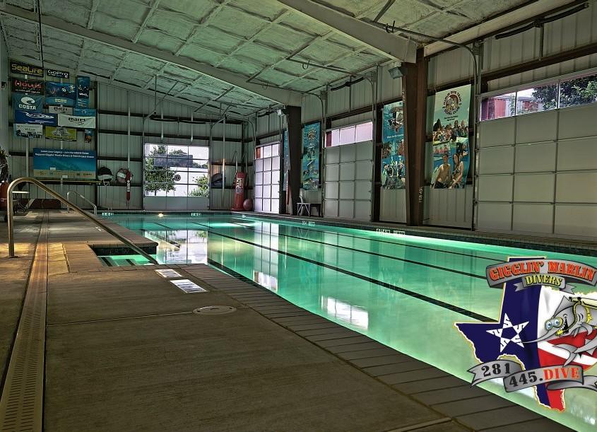 Scuba Diving Pools